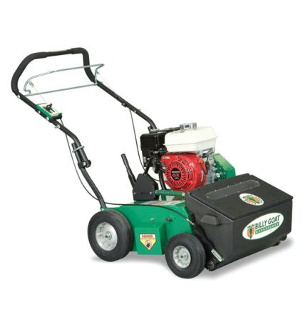 Billy Goat OS552H Overseeder with four-stroke engine