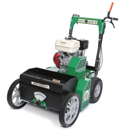 Billy Goat OS901SPH Overseeder with four-stroke engine
