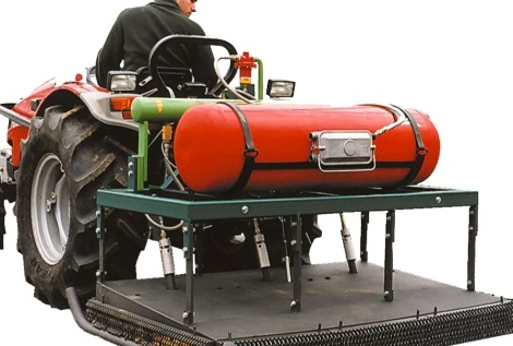 Weedcontrol Flame Greenhouse 100 Gas weed burner - three-point linkage