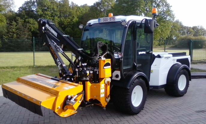 McConnel PA4030 VERSI  Arm mower
