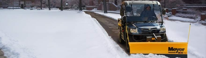 "Meyer Drive Pro 6'0"" H2 Snow plough for compact vehicles from ±750kg"