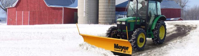 "Meyer Lot Pro 9'0"" H2 Snow plough for compact vehicles from ±750kg"