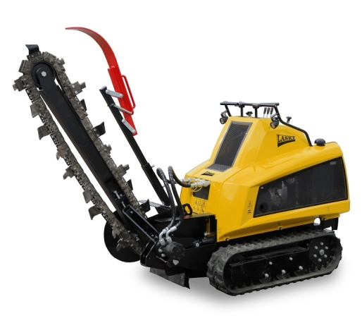 Laski TR120H/CH980 Trencher with 35,0 hp four-stroke engine