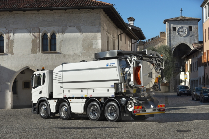 Kaiser Moro Elegance 2.0 Sewer cleaning vehicle